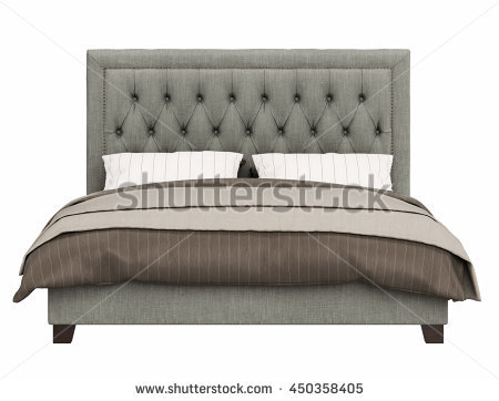 Bed clipart front view Front view Free collection Stock