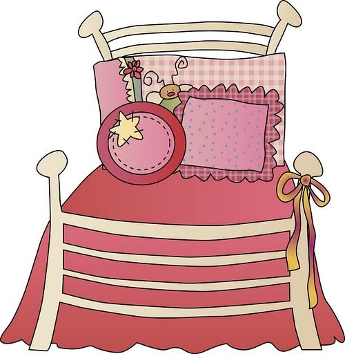Bed clipart girly Best GIRLY/FASHION 95 ClipArt STUFF