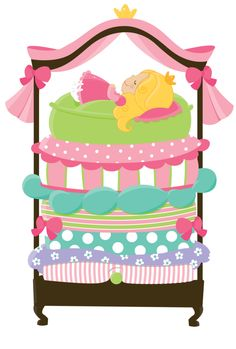 Bed clipart girly And Match Princess  Clip