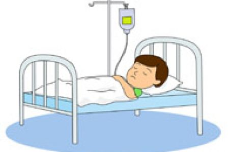 Bed clipart hospital Bed By Bed to Clip