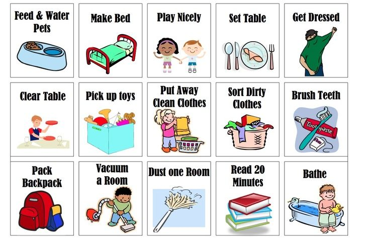 Bed clipart household chore Chores art clip art images