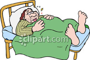 Bed clipart illness Bed Picture Royalty Illness Clipart