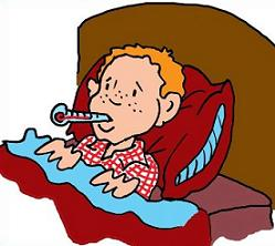 Bed clipart illness In bed Clipart ill Free