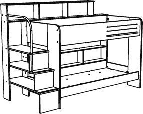 Drawn bed Bunk%20bed%20drawing Free Panda Bunk Drawing