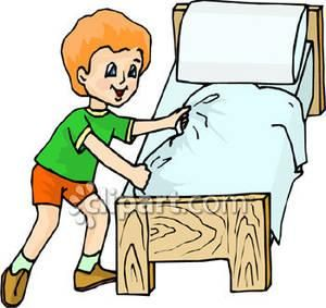 Pillow clipart made bed Of Bed Clipart made Clipart
