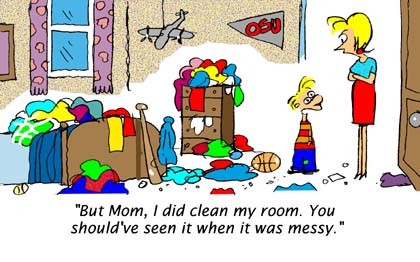 Room clipart messy bedroom #4