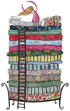 Bed clipart princess and the pea Princess ☆ The ☆ Petit