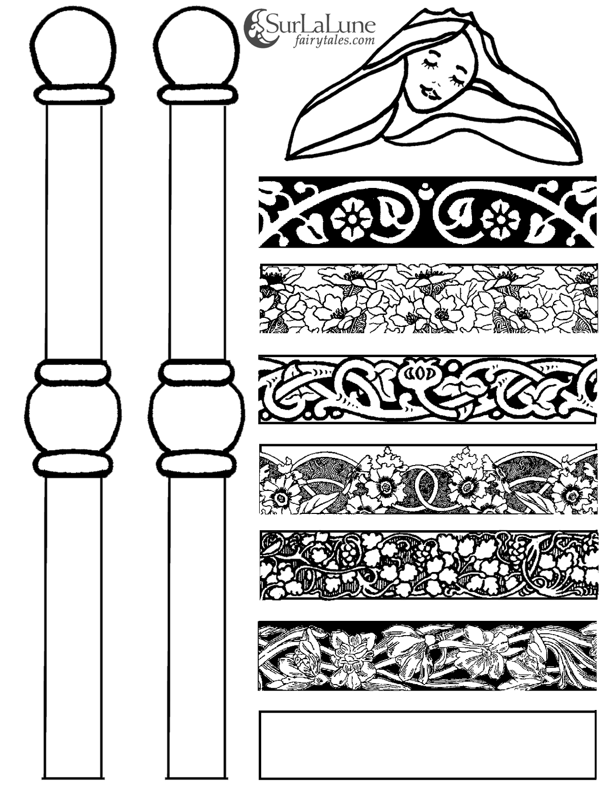 Bed clipart princess and the pea And Tales Princess and SurLaLune