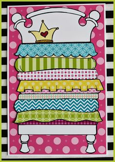 Bed clipart princess and the pea And and Princess Children party