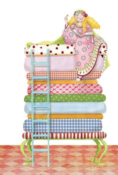 Bed clipart princess and the pea This y Find  Princess