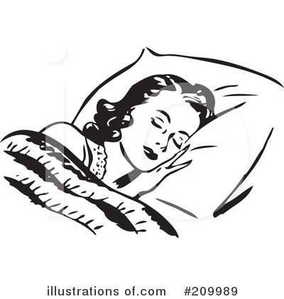 Bed clipart rest sleep Illustration Clipart Sleeping Free by