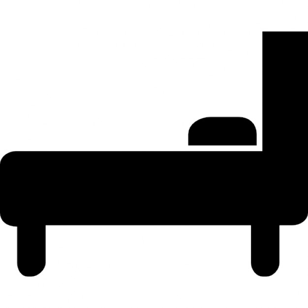 Bed clipart green Download Bed side Bed from