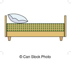 Bed clipart side view Of illustration and Art royalty