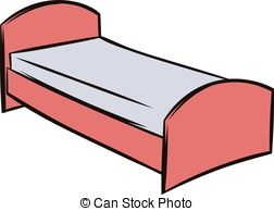 Bed clipart single bed Single 3 Clipart cartoon clip