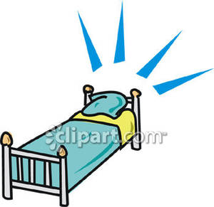Bed clipart single bed Single Clipart Sheets Picture with
