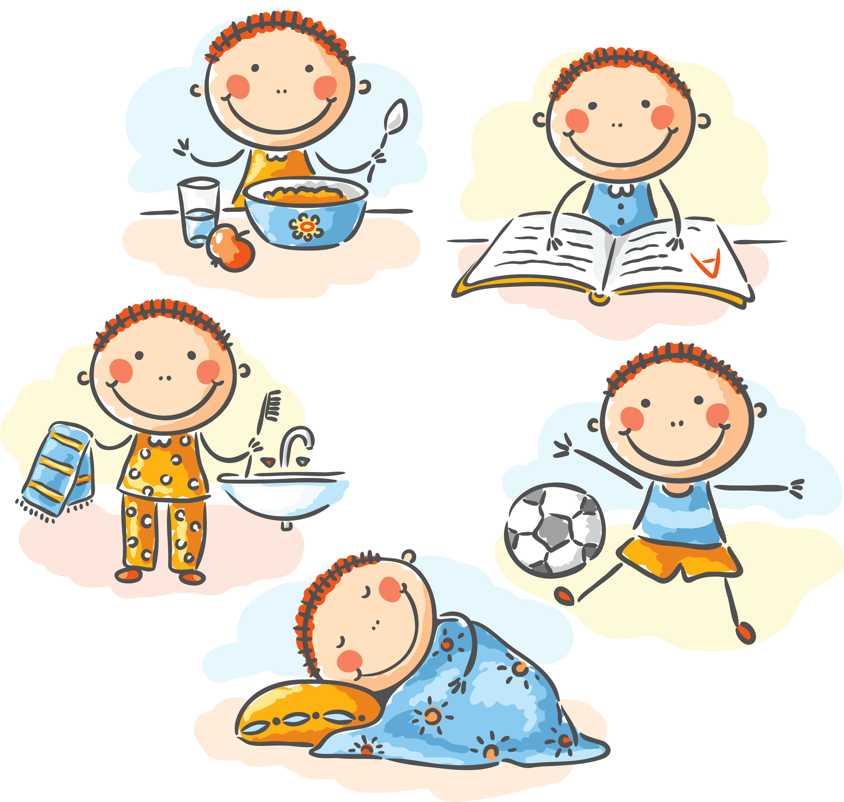 Bed clipart sleep time Go Children Bed HiRes The