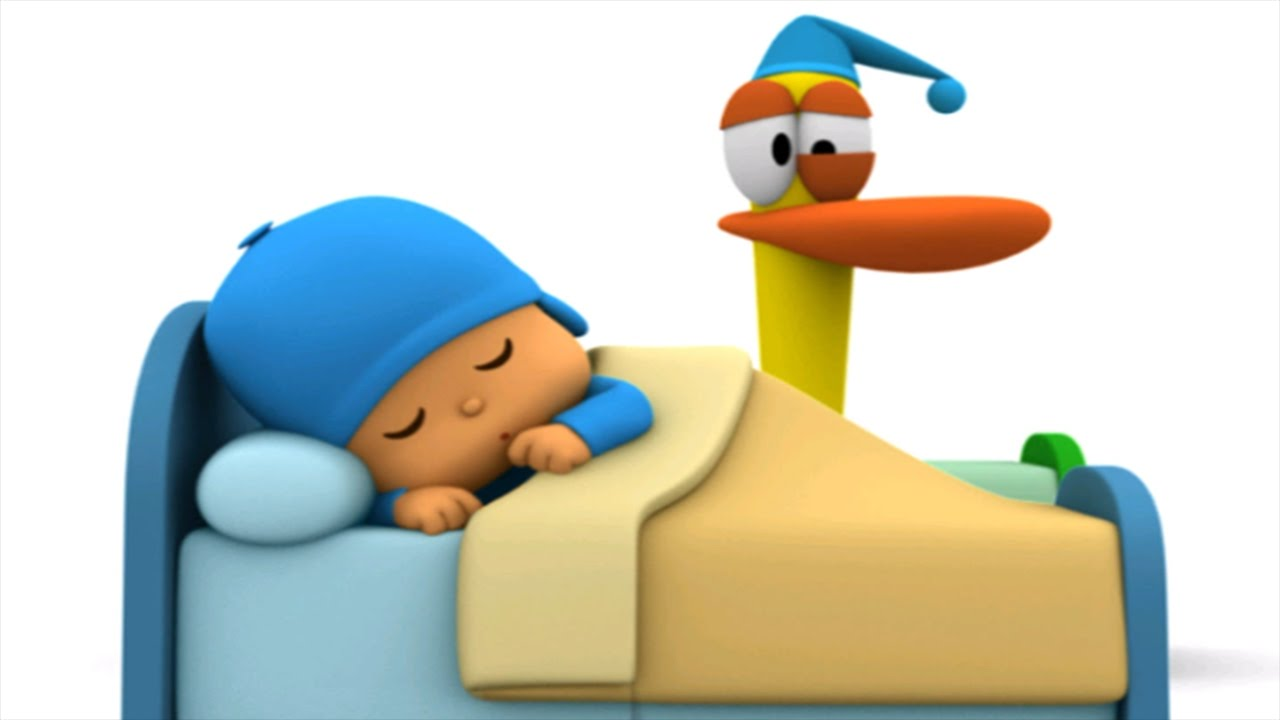 Bed clipart sleep time Bed Story Time Pocoyo Kids
