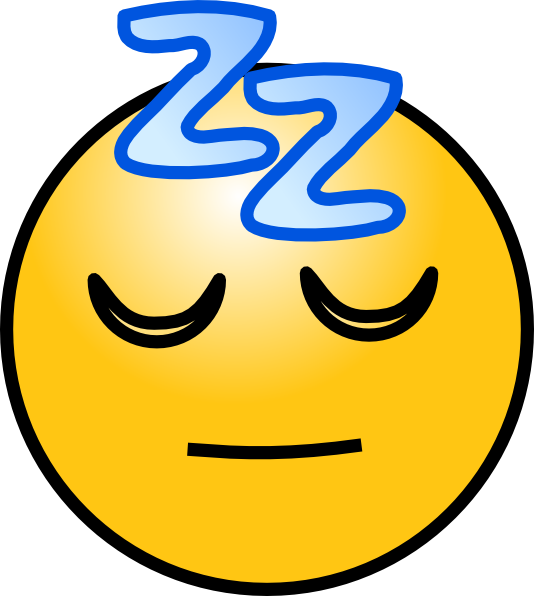 Bed clipart sleepy person Zz online Art Clip Picture