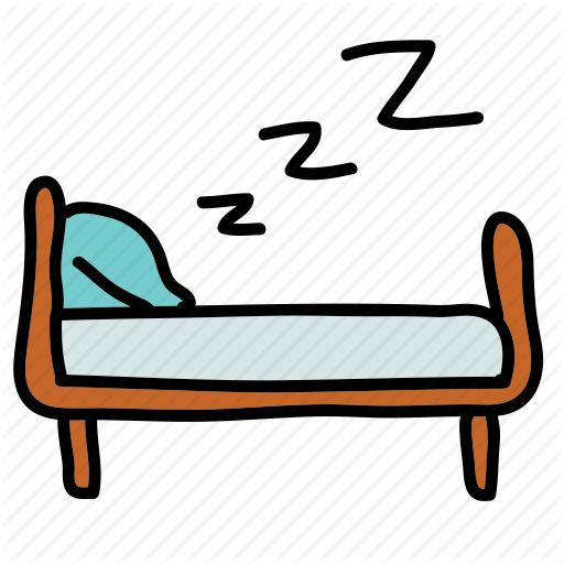 Bed clipart zzz Frame Bed engine Icon icon