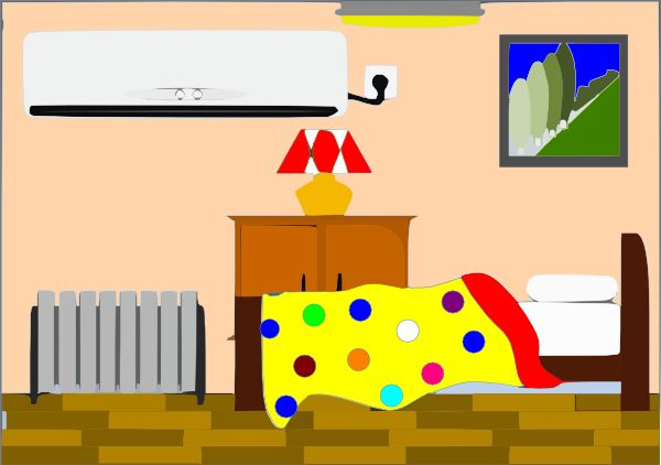 Bedroom clipart #11