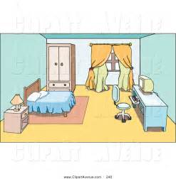 Bedroom clipart #9