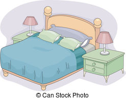 Bedroom clipart #14