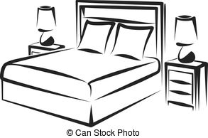 Bedroom clipart #4