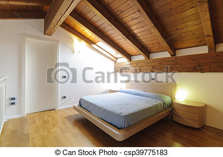 Bedroom clipart attic Bedroom bedroom empty attic bedroom