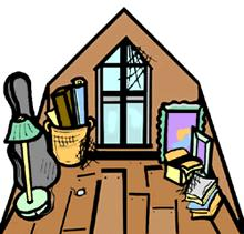 Bedroom clipart attic Jpg vocabulary attic