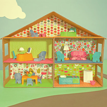 Bedroom clipart doll house #12