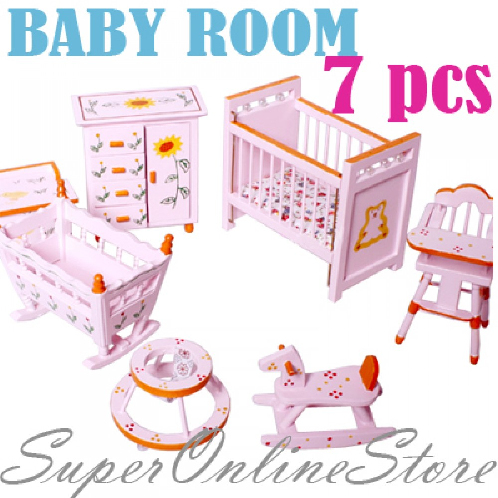Bedroom clipart doll house #13