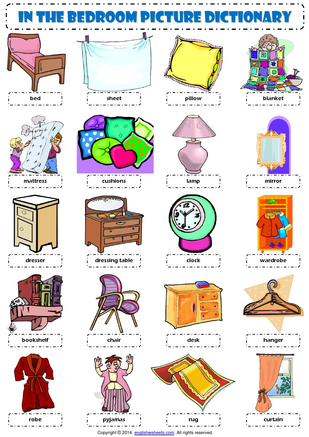 Room clipart english #9