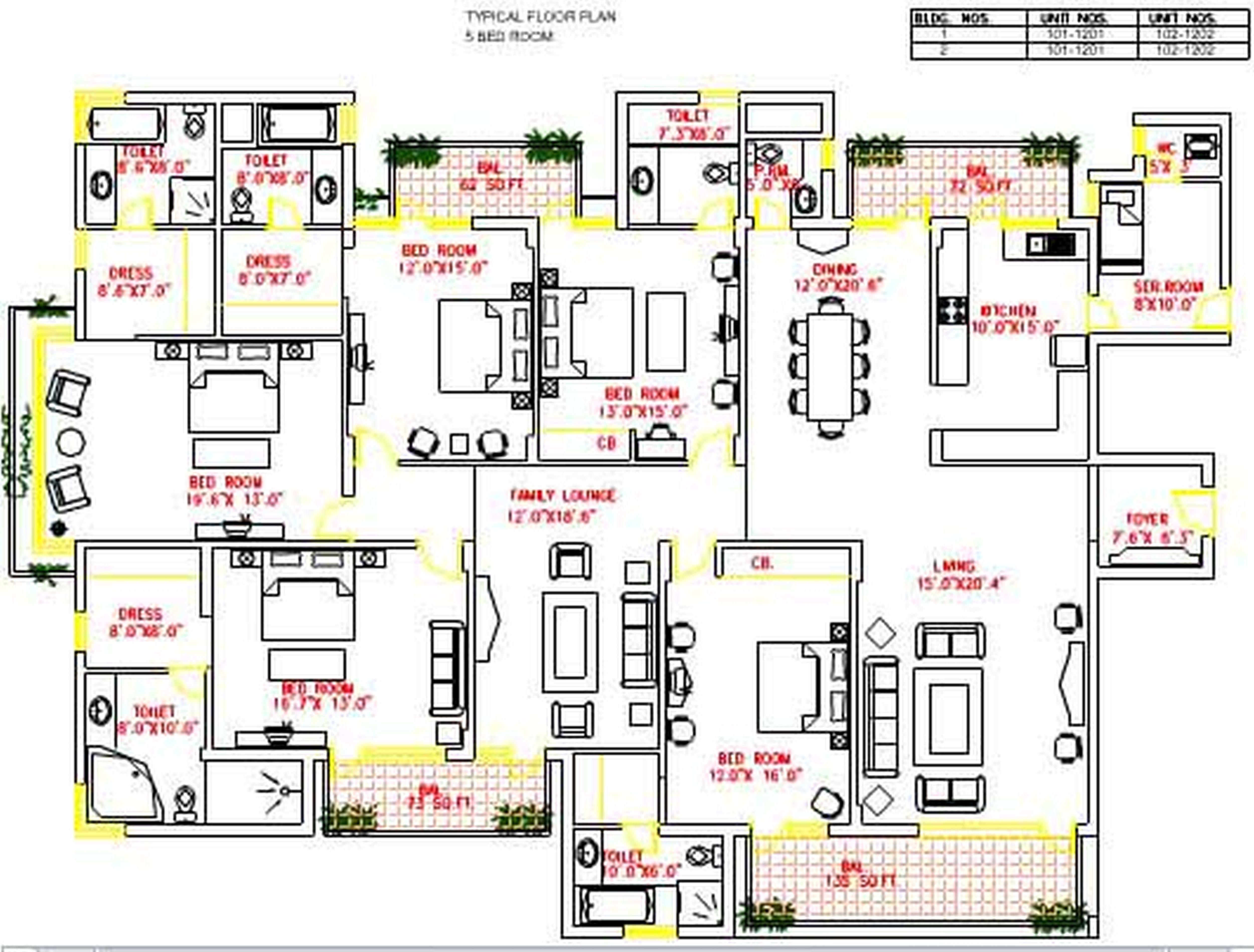Bedroom clipart house blueprint #11