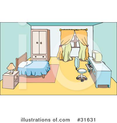 Bedroom clipart illustration Sample Art Stock Platyplus By