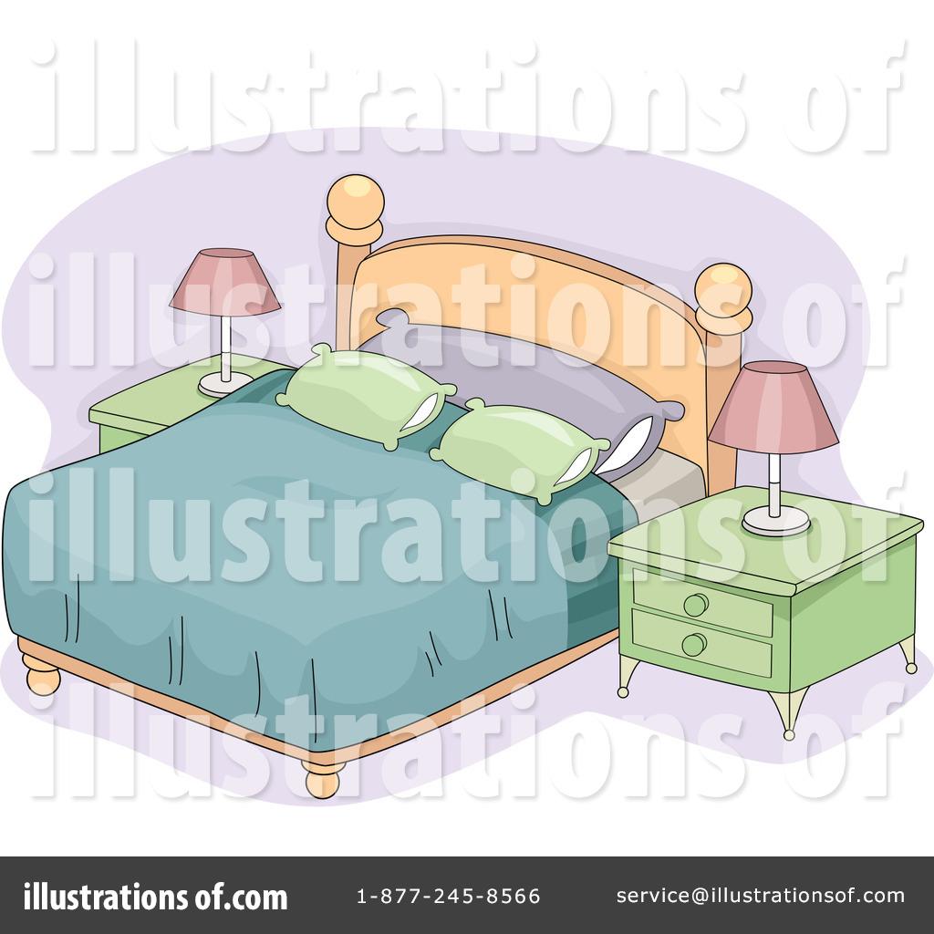 Bedroom clipart illustration Design #1245112 BNP Illustration Clipart