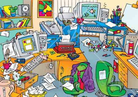 Room clipart mess #3