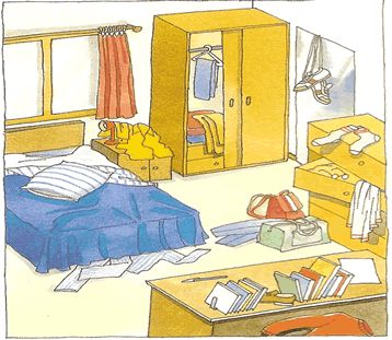 Bedroom clipart preposition Images and Bedrooms on on