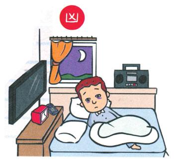 Bedroom clipart tv room Till feng 1 TV and