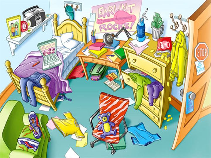 Room clipart mess #1