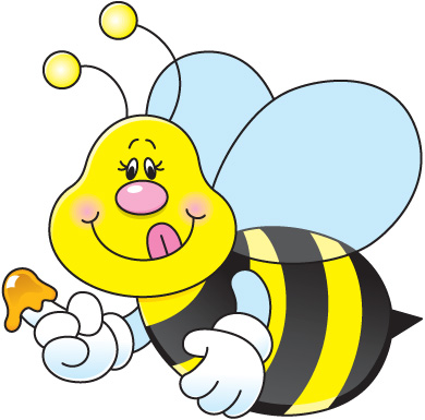 Bees clipart template Spelling Bee Images Free Panda