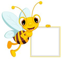 Bees clipart frame Image: Pin around on pancartes
