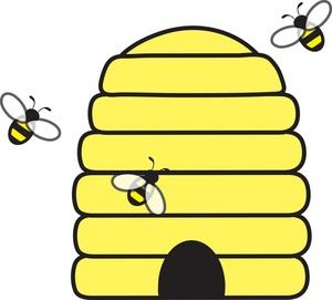 Bee Hive clipart honey bee Honey clipart  bee art