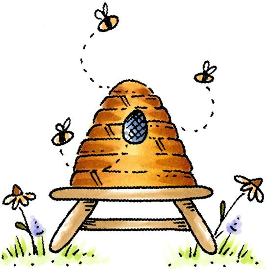Bee clipart beehive Clipart clipart Beehive Clipartix Beehive