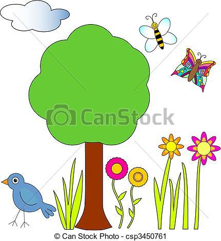 Bird clipart bee Tree bird Bee Clip and