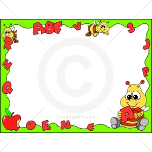 Bees clipart frame Clip Bee clipart collection Bee
