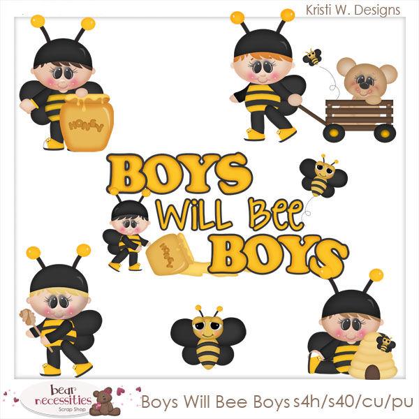 Bees clipart boy Boys Designs Will Clip Bee