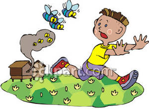 Bees clipart boy A Royalty Boy Free Running