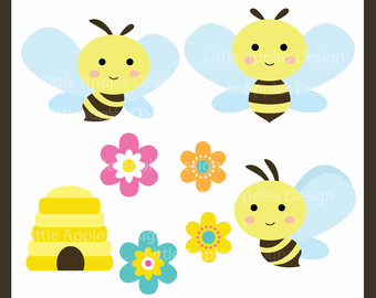 Bee Hive clipart animated baby Bumble / Clip Bee Bee