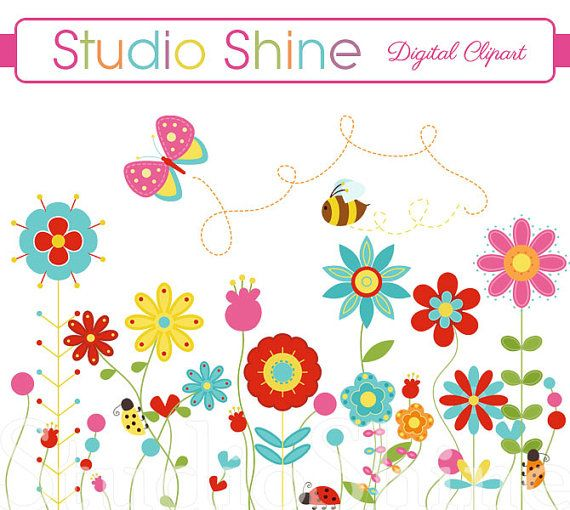 Butterfly clipart ladybug Ladybug Blooms ideas Happiness Instant