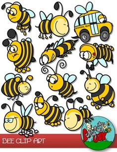 Bee Hive clipart spring Bee  Honey art Clip
